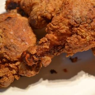 Τραγανό τηγανητό κοτόπουλο