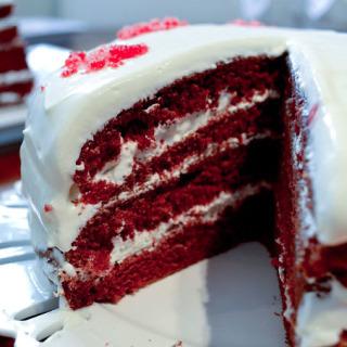 Εκλογικό κέικ (Red Velvet cake)