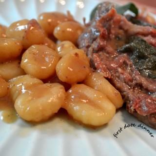 Σαλτιμπόκα α λα ρομάνα – first date dinner