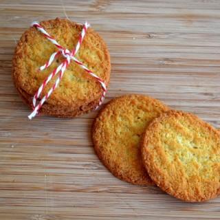 Μπισκοτάκια καρύδας (ANZAC cookies)