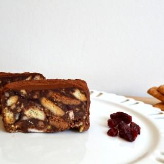 Κέικ Ψυγείου (Γλυκό σαλάμι)