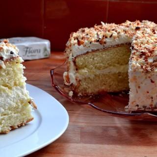 Κέικ φρέσκιας καρύδας (ή ένα κέικ για να καλμάρουν τα νεύρα)
