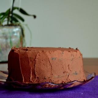 Vegan σοκολατένιο κέικ