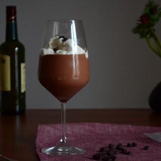 Σοκολατένια μους με whiskey
