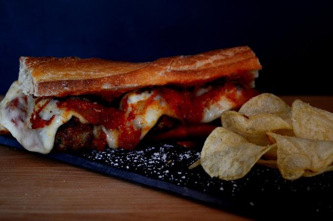 meatball sandwich 1