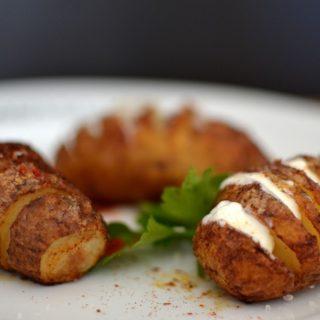 Πατάτες Hasselback